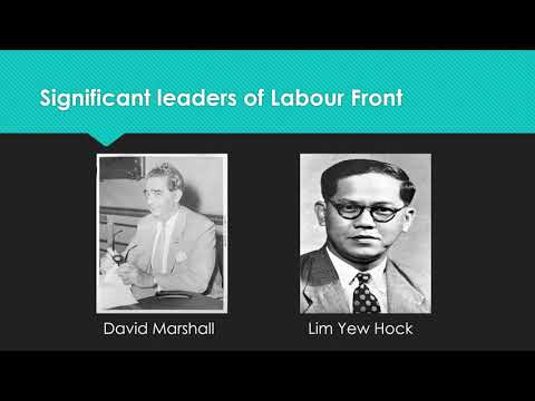 Political parties in Singapore: late 1940s to 1950s