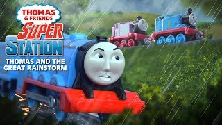 Fizzling fireboxes! it's a rainy day on the island of sodor and caitlin, connor narrow gauge engines are having fun racing at super station but ...