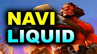 LIQUID vs NAVI - SEMI-FINAL - MEGAFON WINTER CLASH DOTA 2