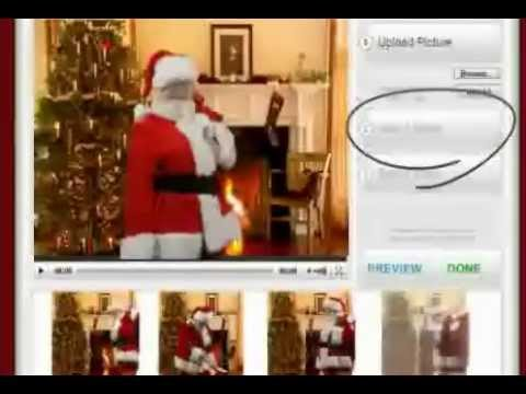 Put Santa Claus In Your Living Room U0026 Amaze  New Video Software Part 32