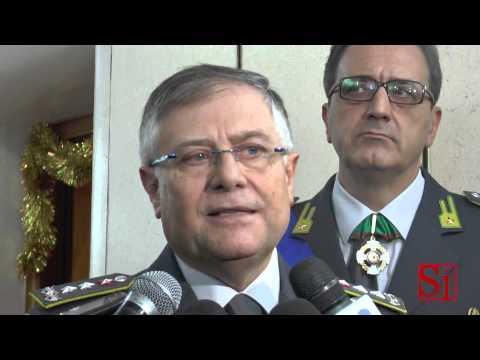 Napoli - Avvicendamento al vertice della Guardia di Finanza -2- (16.12.14)