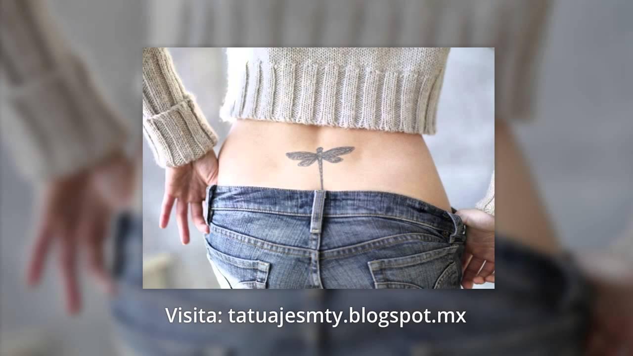 Tatuajes De Libelulas Diseños Fotos Youtube