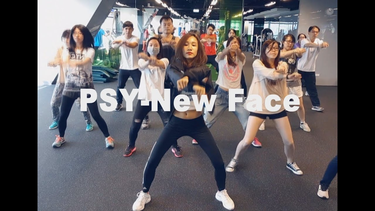 PSY-New face 4 | 舞蹈&數拍教學-4 到副歌完後 | Chueh minnie (mirrored) - YouTube
