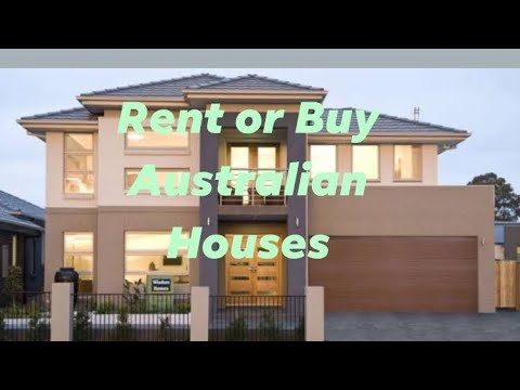 How Much To Rent And Buy A House In Australia