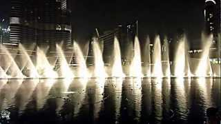 Dubai Mall Fountains Arabic Music Enta Omri I 05/06/11