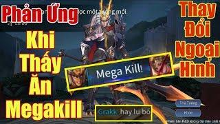 [Gcaothu] Phản ứng của đồng đội khi thấy Lữ Bố Megakill - Lột xác ngoại hình để mạnh hơn