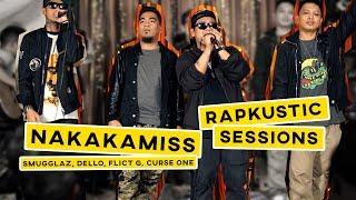 RAPKUSTIC SESSIONS: Nakakamiss | Dello, Smugglaz, Curse One, Flict G