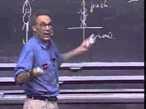 Lec 05: Uniform Circular Motion | 8.01 Classical Mechanics, Fall 1999 (Walter Lewin)