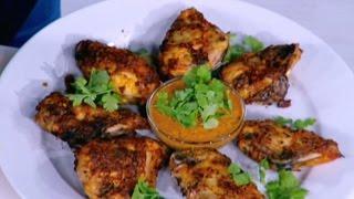 دجاج مشوي بالتتبيلة الهندية - نضال البريحي