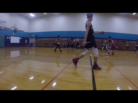 AAU U-11 Seattle Pride Basketball vs NW 6 All Stars  05-06-2017