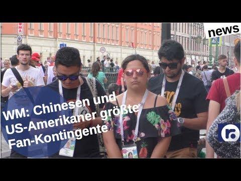 Chinesen und US-Amerikaner meiste WM-Fans