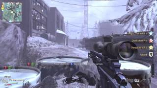 MW3 Aggressive Sniping with Vikkstar123