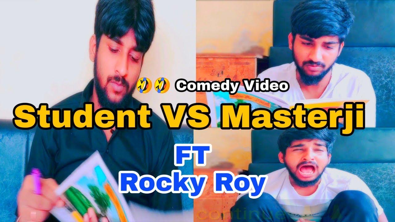 Student VS Masterji | Comedy Video | Ft Rocky Roy