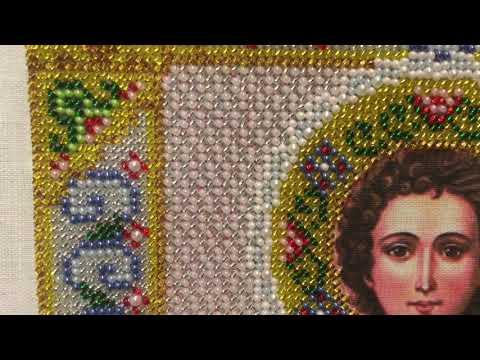 Окончание вышивки иконы «Св. Пантелеймон» (ТМ «Паутинка») + немного весеннего настроения. Вышивка.