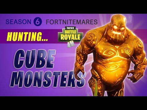 Fortnite | All Cube Fragment MONSTERS (Elite & Mega Brute Monster / Fortnitemares Challenge)