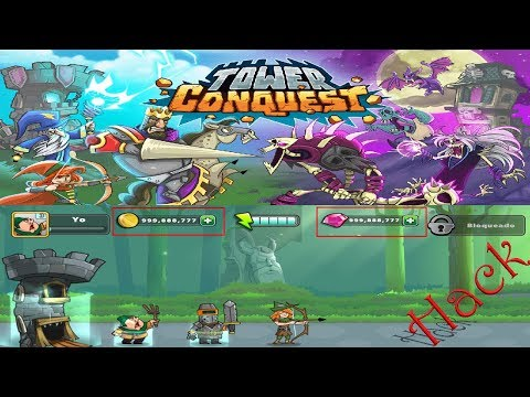 Download TOWER CONQUEST HACK 2018 | Android | Andro Games |