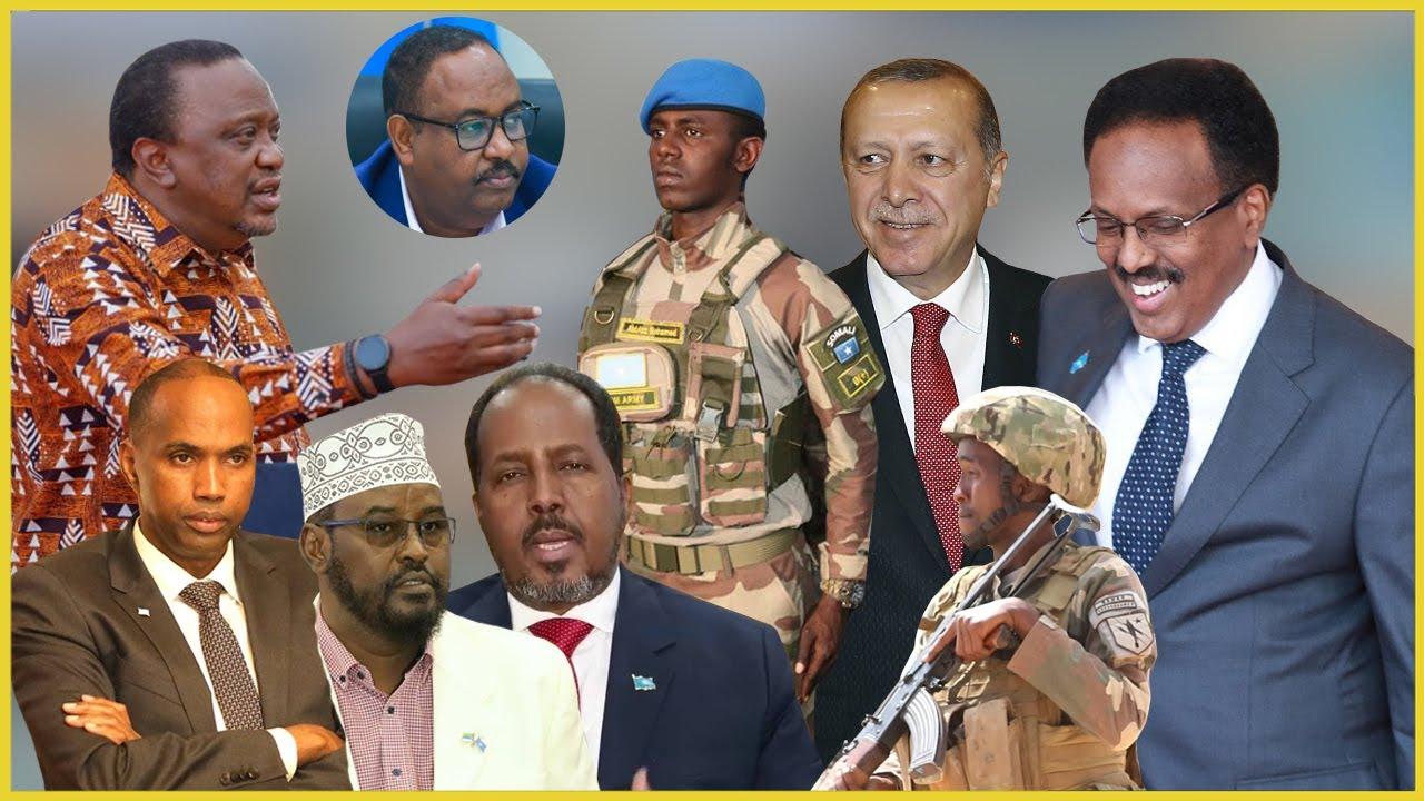 DEG DEG Erdogan oo la Saftay Farmaajo & Niyad-Jabka Mucaaradka, Jabhad Dagaal, Shirka Muqdisho+Xog..