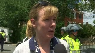 Police spokeswoman talks response to Charlottesville protest