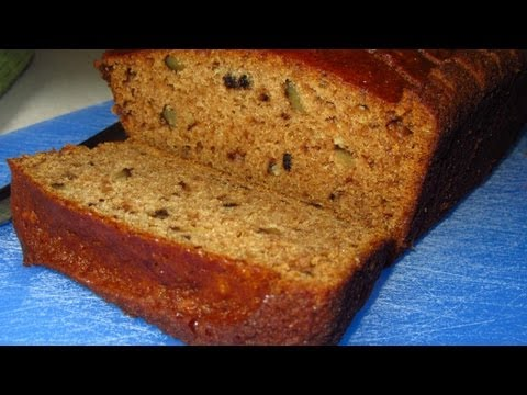 Applesauce Nut Bread