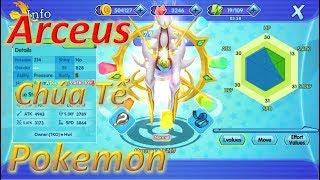 Arceus Chúa Tể Của Các Loài Pokemon - Pocketown