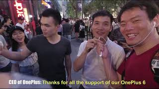 Meet the CEO of OnePlus Pete+Shenzhen Pop-up Event+OnePlus 6 First Impression [SamiLuo Vlog 43]