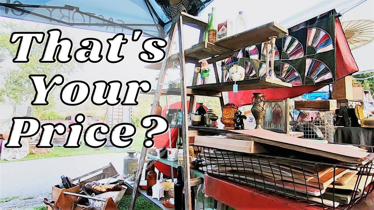 Do NOT Do This At Flea Markets!
