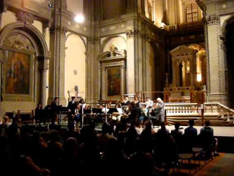 Firenze Chiesa di Santo stefano a Ponte Vecchio Jazz 2