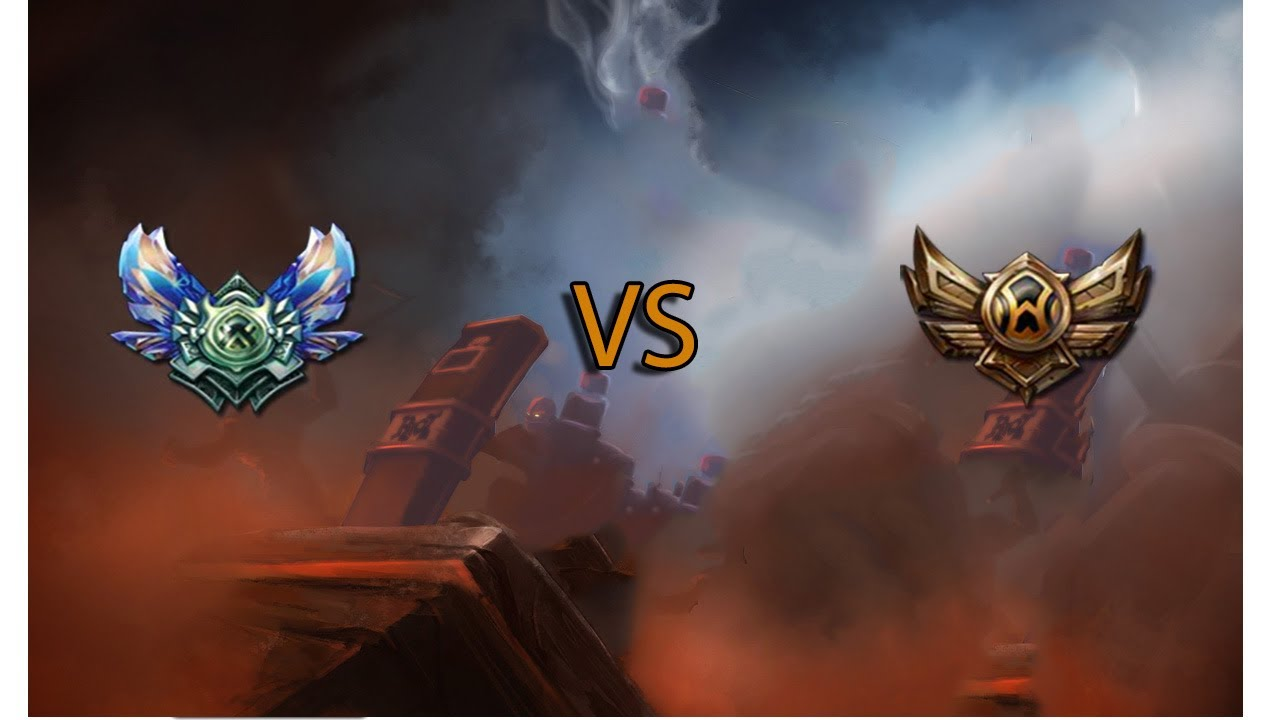 Diamond Teamfights Vs Bronze Teamfights League Of