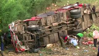 Fifty reported killed in 'catastrophic' Kenya bus crash