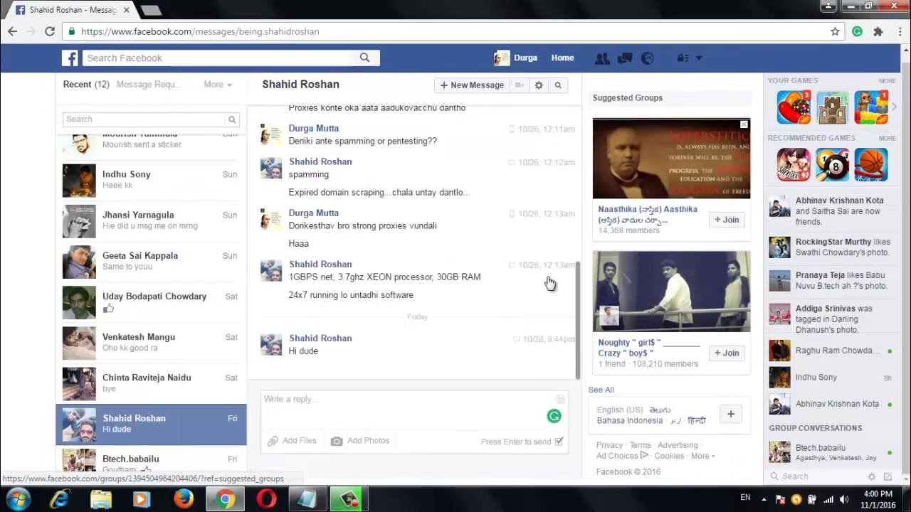 how to remove keep scrolling for more on facebook