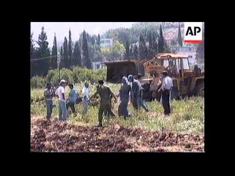 ISRAEL: WEST BANK TOWN OF JENIN SET FOR PALESTINIAN AUTHORITY