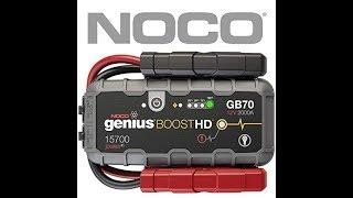 Đập hộp bộ kích điện xe hơi Noco Genius GB70 kiêm sạc dự phòng và đèn LED siêu sáng.
