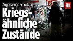 Augenzeuge beschreibt die brutalen Straßenschlachten von Stuttgart