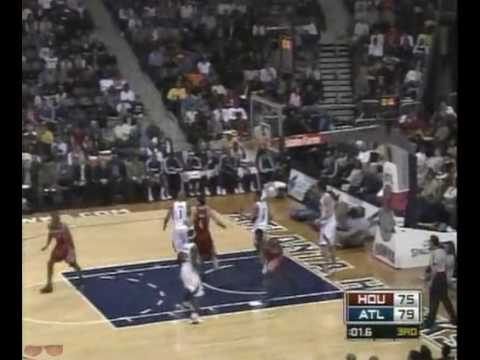 Houston Rockets Highlights vs. Hawks 1/3/2009