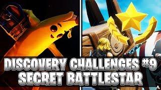 BATTLESTAR SECRET! Semaine 9 Discovery Challenges (Fortnite Saison 8)