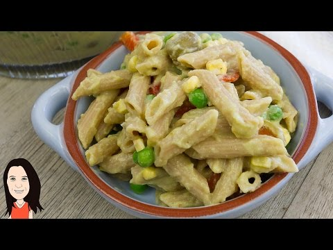 Creamy Vegan Pasta Salad – HCLF No Oil!