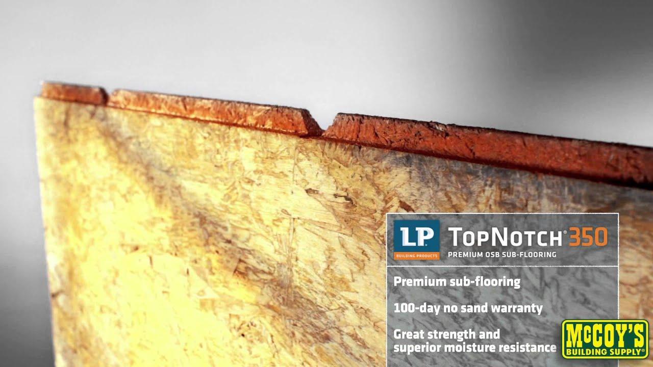 LPC TopNotchC OSB Sub Flooring