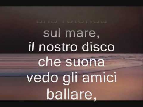 FRED BONGUSTO-UNA ROTONDA SUL MARE(1963) lyrics