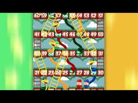 Snakes And Ladders - FREE Mobile Game For IOS And Google Play.