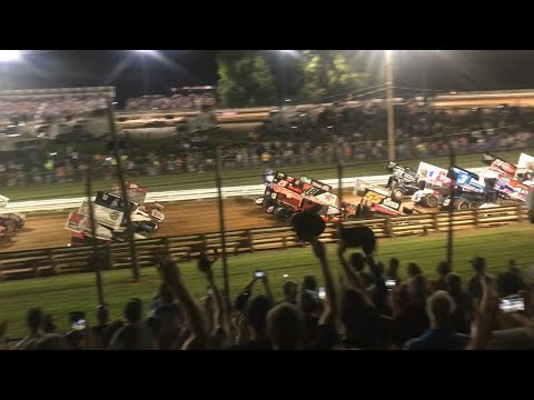 World of Outlaws: Pa Posse vs. The Outlaws [Summer Nationals 2018 @ Williams Grove]