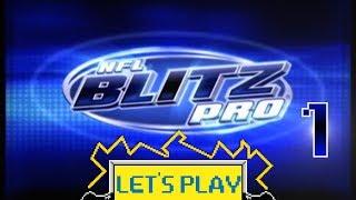 Let's Play NFL Blitz Pro - Part 1 - Mean Stream Machine