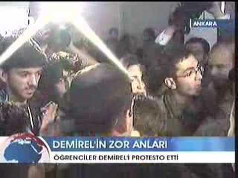Haber Programı - Öğrenciler Demirel'e Katil Dediler