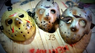 Jason Voorhees Mask -  DMSFX Criations Super unboxing