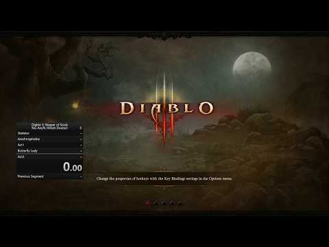 Diablo 3 Speedrun Any% NG Witch Doctor WORLD RECORD 2:11:01