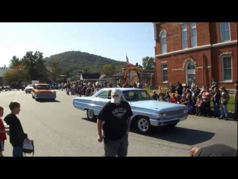 Sorghum Festival Parade Blairsville GA October 13, 2012 UCHS Marching Band Classic Cars Horses
