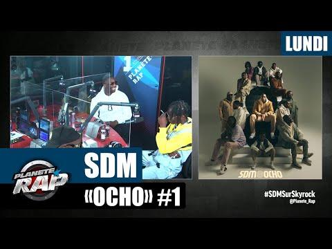 Youtube: Planète Rap – SDM«Ocho» avec DMC, Brigi, Nesrine, Aziz DZ et Fred Musa #Lundi