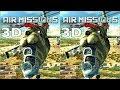 3D VR  video Air Missions HIND 3D TV VR box 3D SBS Google Cardboard