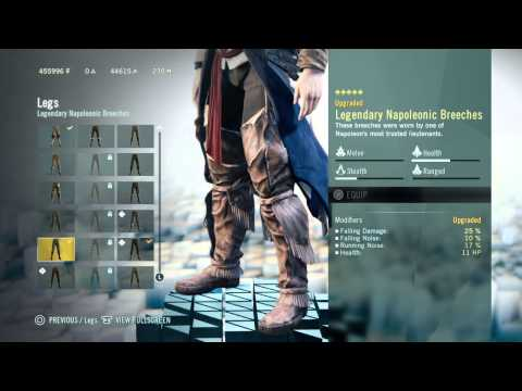 Assassin's Creed: Unity - Best Loadout - Tips and Tricks