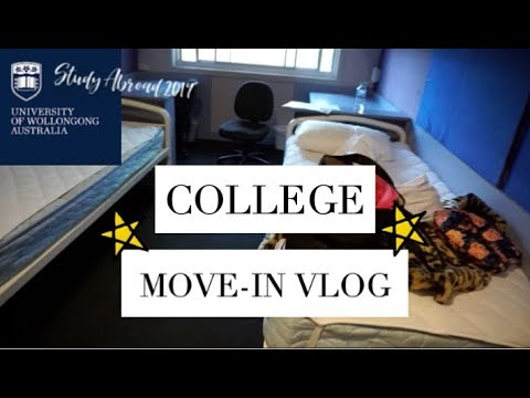 College Move-In Vlog! ⭐️🇦🇺Study Abroad: University Of Wollongong Australia 2019