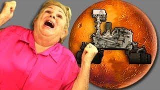 ELDERS REACT TO MARS LANDING